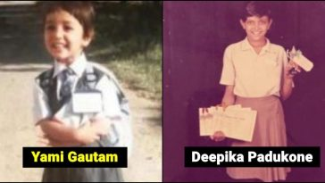 Cute pictures of Bollywood Celebs in school uniforms, catch details