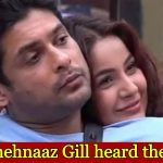 Shehnaaz Gill finally responds to the death of her boyfriend Sidharth Shukla, check out full details