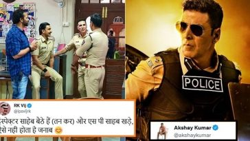 Akshay Kumar gives a humble reply to IPS officer who highlights mistake in Sooryavanshi pic