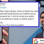 Man asked Google to improve Maps; this is how Google replied to him