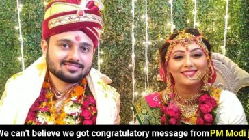 Dhanbad couple gets delighted after receiving wishes from PM Modi on their wedding