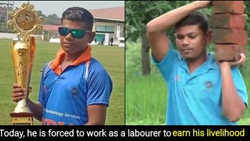 This World Cup winning Indian cricketer is now a daily wage labourer
