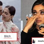 User abused Deepika Padukone on social media; the actress gave a classy reply!