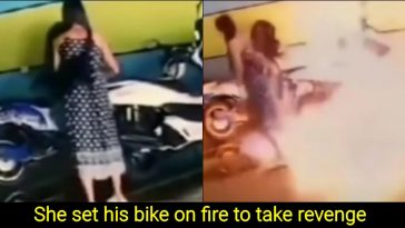 Angry Woman Sets Ex-lover's Rs 23 Lakh Bike on Fire to take revenge