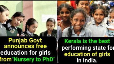 List of States that offer the best education for Girls in India