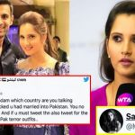 Troll Said Sania Mirza Is No More Indian After Marrying A Pakistani; She responds!!