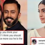 Woman called Sonam Kapoor's husband 'ugliest', the actress gave a sharp reply!