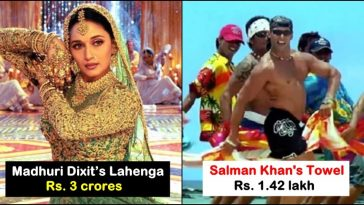 Madhuri Dixit's lehenga to Salman Khan's towel: Iconic items auctioned at high prices