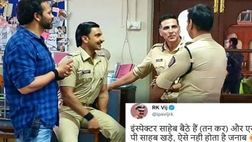 IPS officer points out error in Sooryavanshi pic; this is how Akshay Kumar replied!
