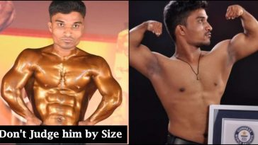 People mocked him for his short height, today he is world's shortest bodybuilder!