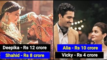 5 Male actors who happily accepted less salary than Female co-stars