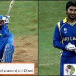 Kumar Sangakkara gives an epic reply to ICC's tweet on MS Dhoni